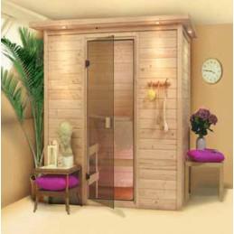 Sauna Finlandese in Abete...