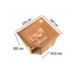 Pompa Filtro a sabbia Piscina fino a 6000l/h 6 funzioni