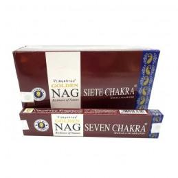Golden Nag Seven Chakra...